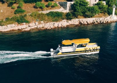 The multi-purpose catamaran - Taxi CAT