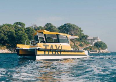 Eco-friendly catamaran
